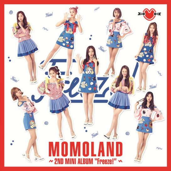MOMOLAND – Freeze! (Instrumental)